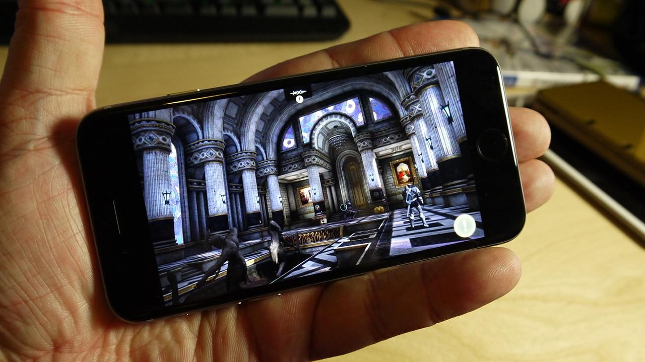 jeux vidéo sur iPhone