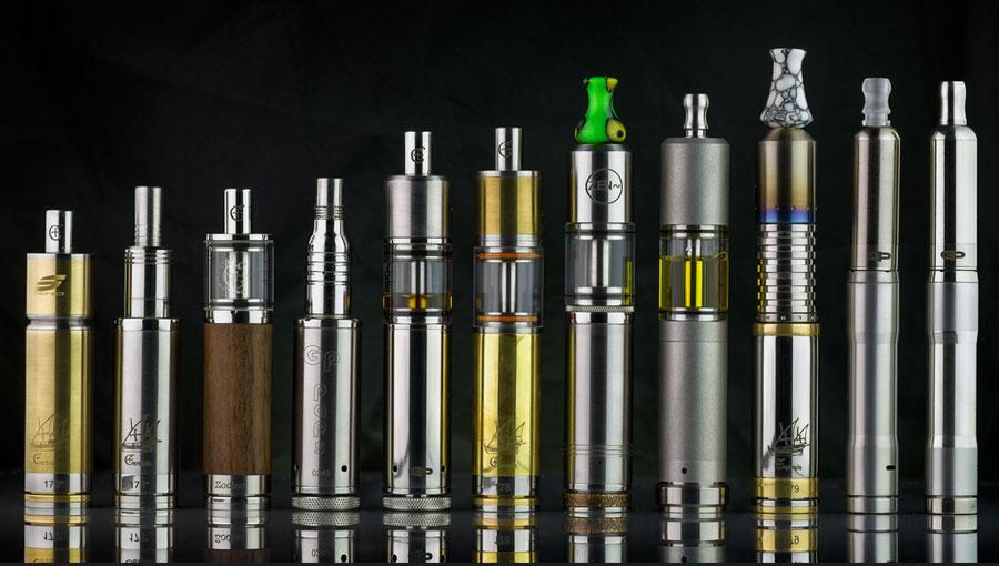 plusieurs e-cigarettes